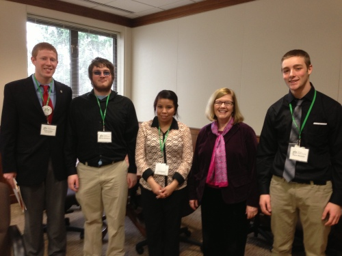 2013 Advocacy Convening Diane Rosenbaum Meeting