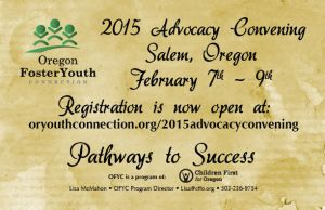 2015 Advocacy Convening: Pathways to Success